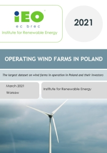 Operating wind farms in poland 2021