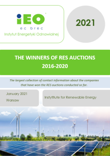 The Winners of RES auctions 2016-2020