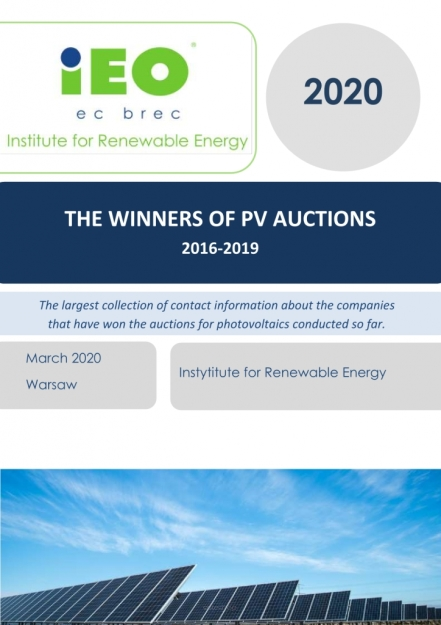 The Winners of PV auctions 2016-2019